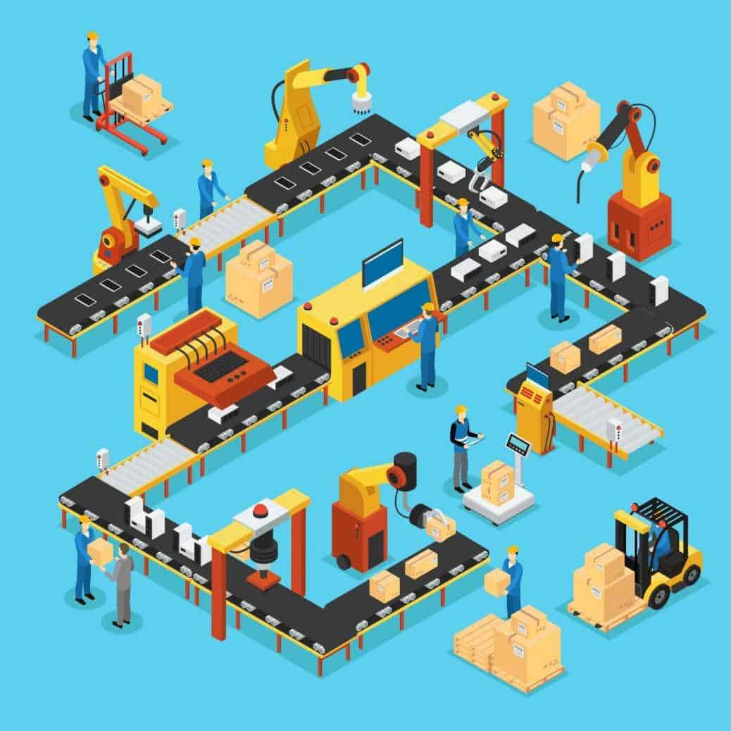 Industrial robot systems
