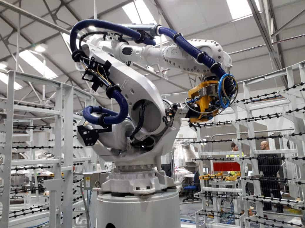 Industrial robot automation